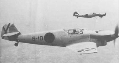 メッサーシュミットBf109B型